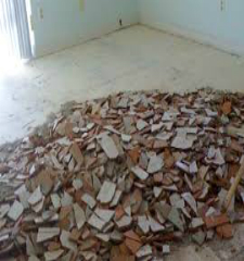 Green Guys Junk Removal does tile removal in sarasota fl