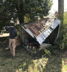 Green Guys Junk Removal provides shed removal in sarasota